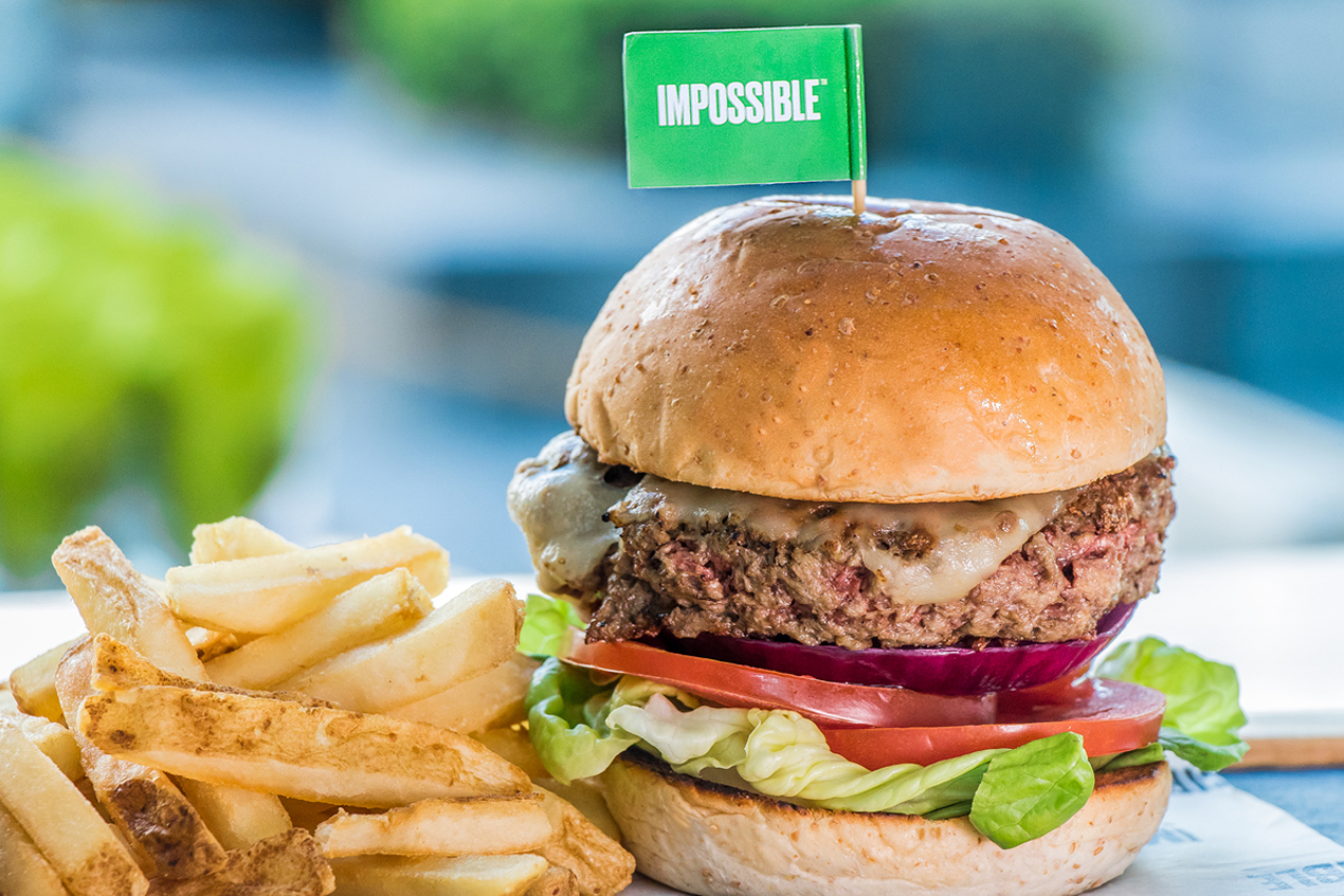 The Impossible Burger Launches at Hotel ICON