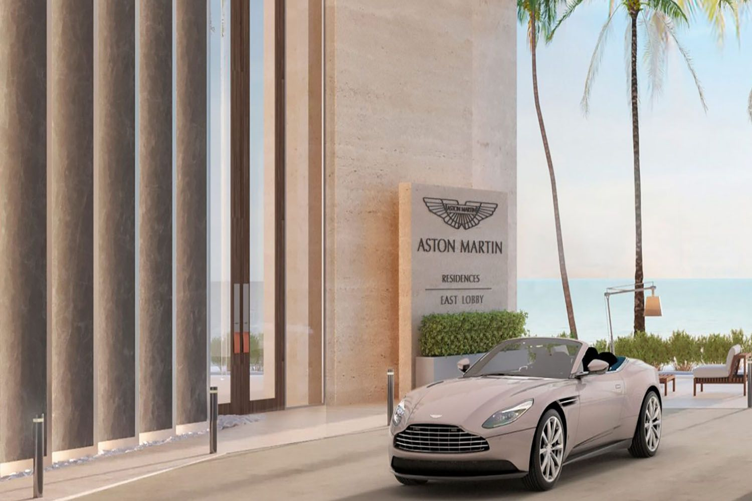 Boys and Their New Toy : Aston Martin Residence