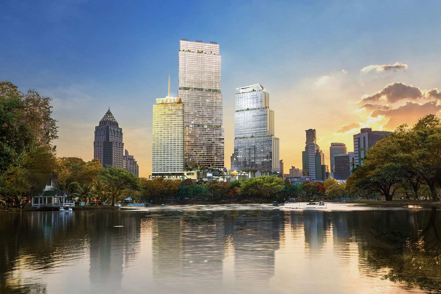 Dusit and CPN  Unveil 'Dusit Central Park' in the Heart of Bangkok