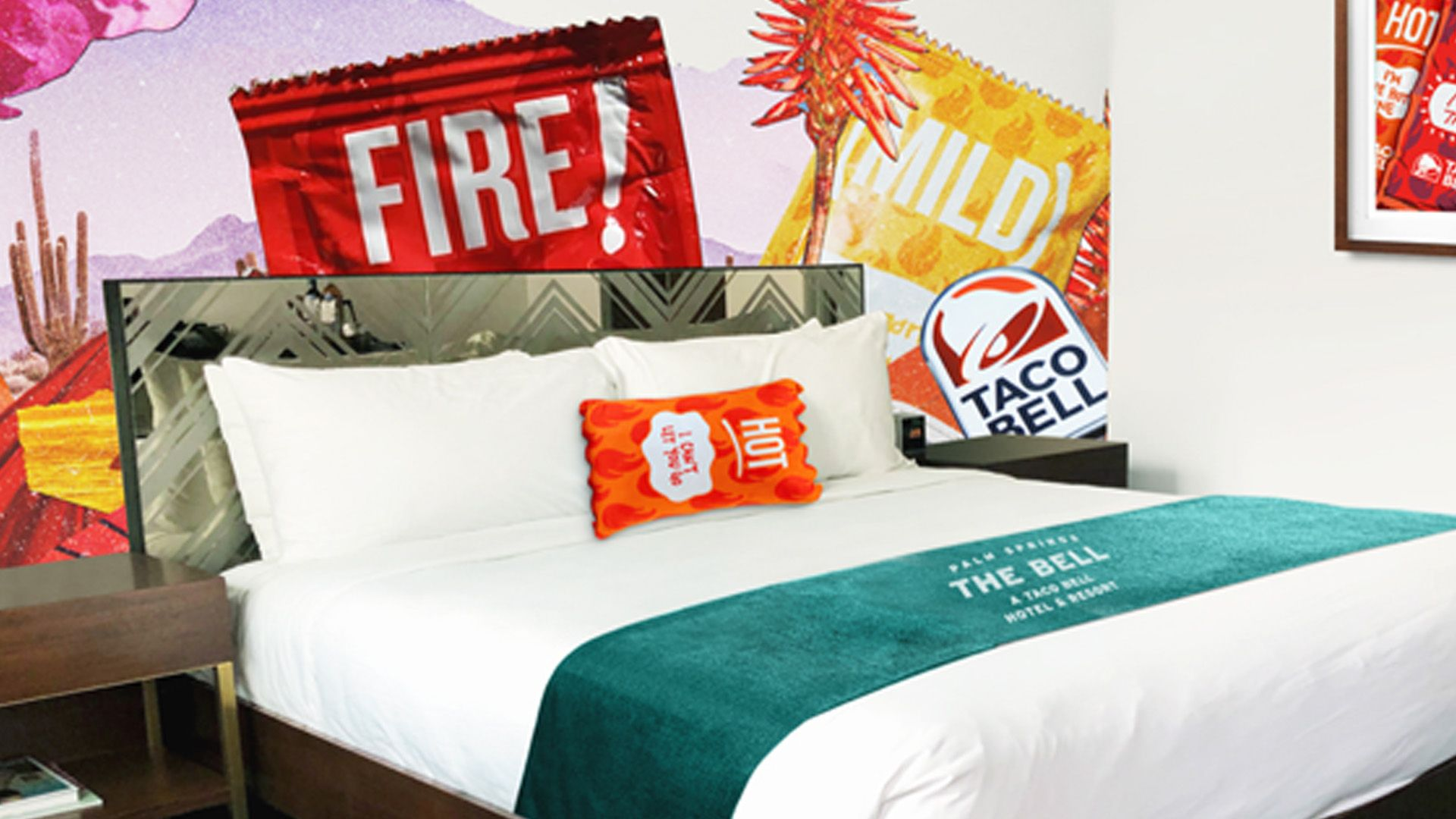First Taco Bell Hotel Ready To Open For Guests