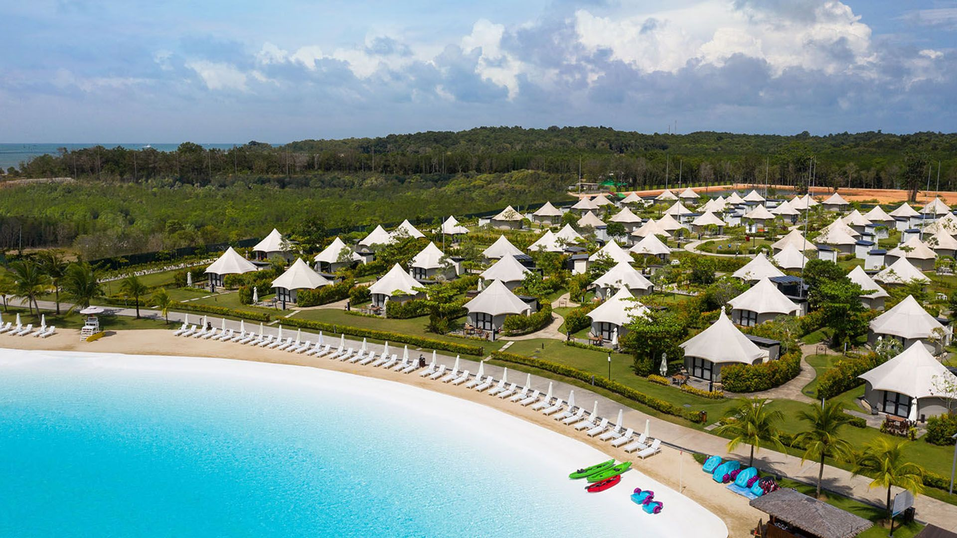 Tribute Portfolio Debuts its First Tented Concept Resort in Bintan