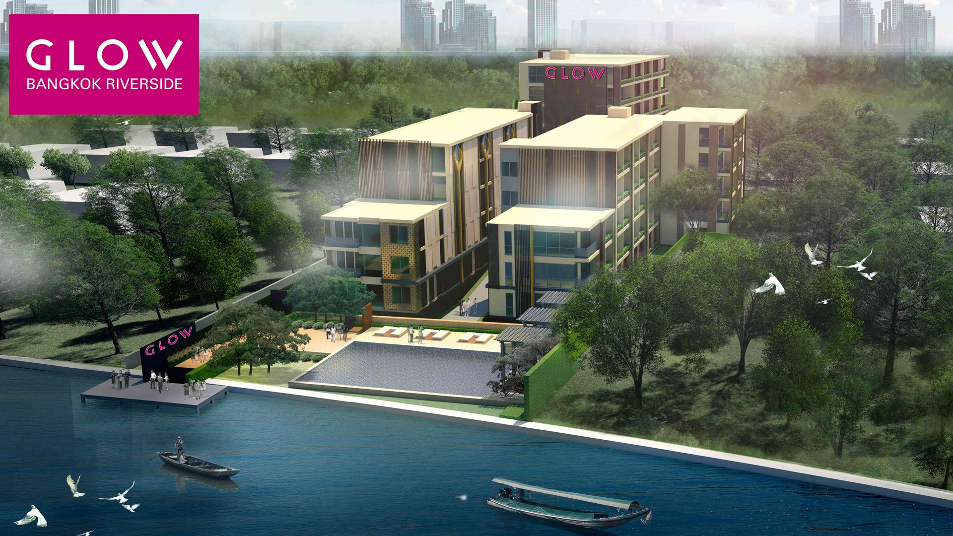 InVision Hospitality to Manage New Riverside Property as 'GLOW Bangkok Riverside'