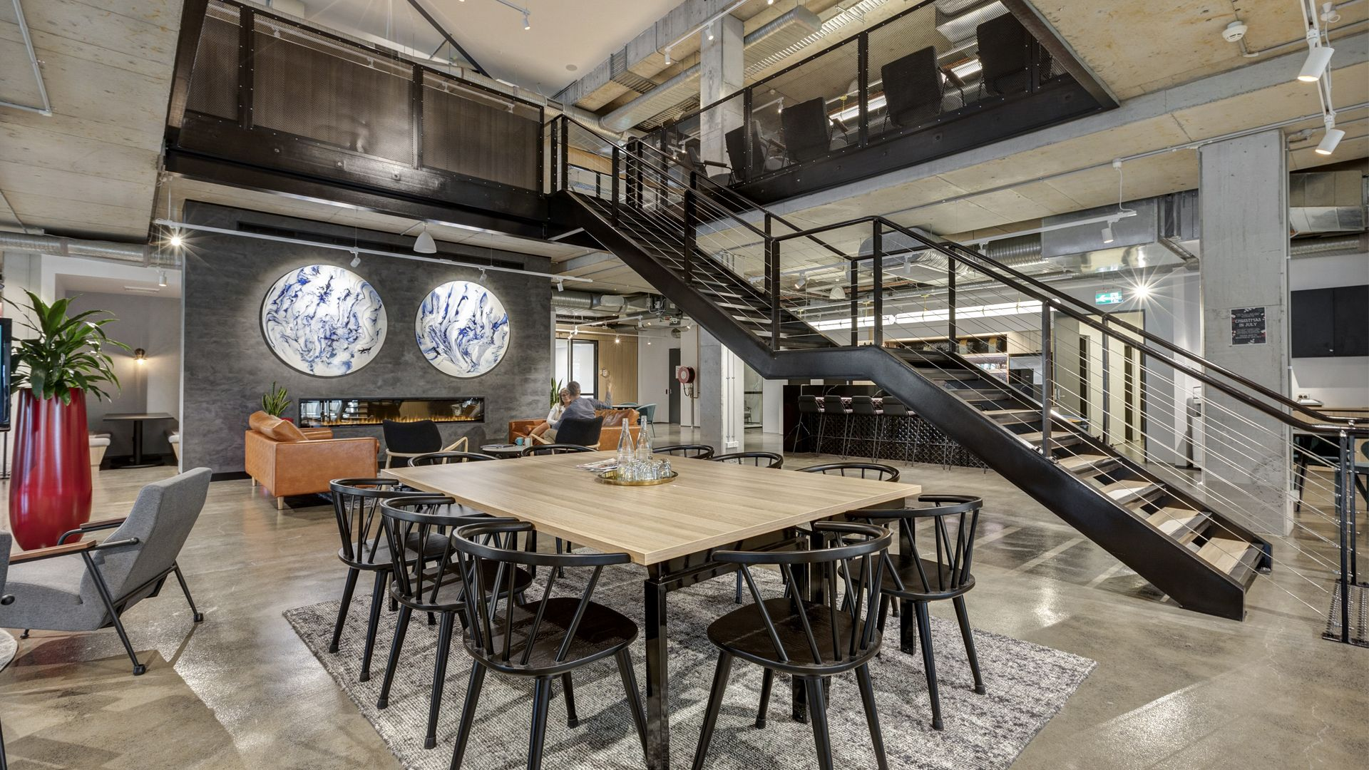 Co-Working Space and On-Site Hotel Invading Hotel Space